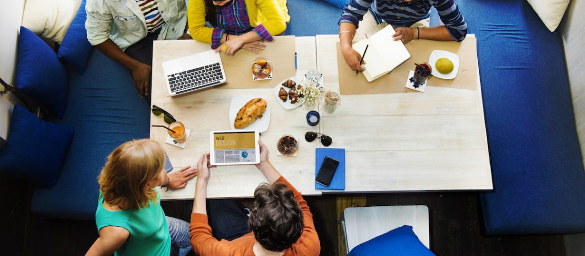 Meeting Discussion Ideas Communication Corporate Concept